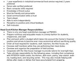 resume awesome work resume resume kitchen hand skills enrapture
