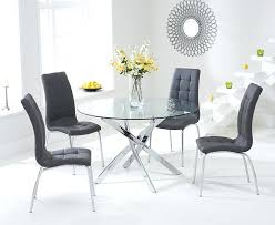 small round gl dining table and 4 chairs round gl dining room tables appealing small round small