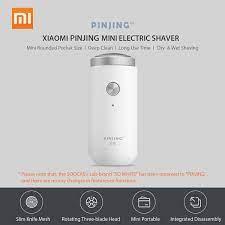 Máy Cạo Râu Điện Cầm Tay Mini Có Thể Sạc Lại Xiaomi Pinjing ED1 | Kaka  Store