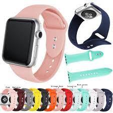Dây đeo silicon cho đồng hồ thông minh Apple Watch Series 5 4 3 2 1 giảm  tiếp 39,639đ