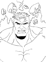 Small Picture Hulk is ready for action coloring pages Hellokidscom