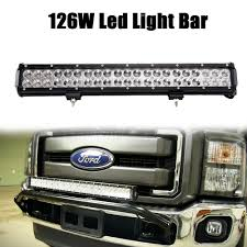 Licence Plate Led Light Bar Details About 20inch Led Light Bar Combo For Suv Atv Ute Offroad Truck For Ford Driving 22 24