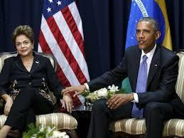 Resultado de imagem para dilma e obama nos EUA
