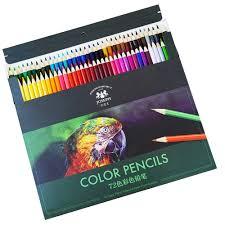 72 Couleurs Joseph Crayons De Couleur Ensemble Carton Grasse Couleur