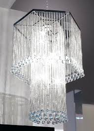 beaded crystal chandelier wedding