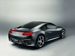 new car releases in 2015Updated Acura NSX Concept Graces Detroit Adding to Extended