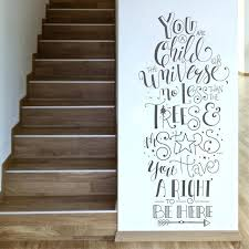 inspirational wall decor new inspirational wall decal for baby bedroom creative girl room wall decor stickers es art vinyl inspirational wall decor