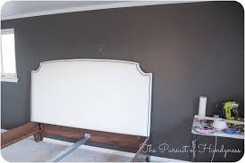 diy upholstered king headboard with nailhead trim 1 of 1 4