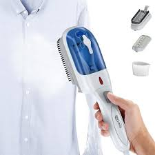 Housmile Portable Garment Steamer 70ml Fast Heatup Handheld Fabric Clothes  Steamer with Brush For