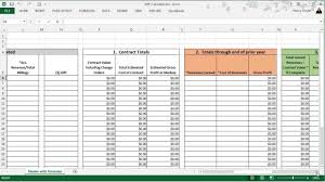 Work In Progress Excel Template Wip Calculations Can Be Easy Youtube