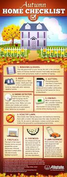 Autumn Home Checklist [Infographic]