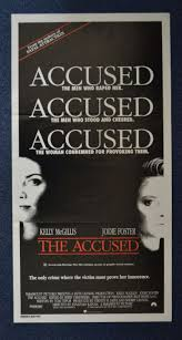 all about movies the accused movie poster daybill jodie foster click for supersize image