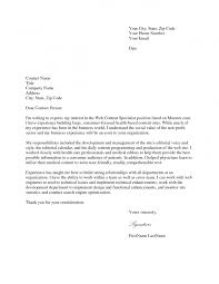 cover letter cover letter for city job cover letter for city job ...