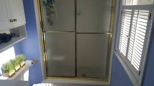 how to clean shower doors get rid of soap s tutorial upbeat and clean