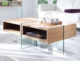 china akiyama ash wood veneer center table with tempered glass legs china coffee table glass coffee table