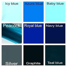Teal Color Chart Moramora Info