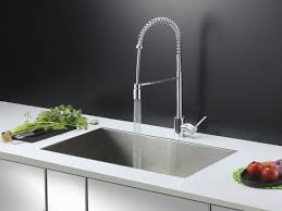 Stainless Steel Faucets Kitchen Ruvati Rvc2601 Stainless Steel Kitchen Sink And Chrome Faucet Set