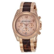 michael kors women s watches on up to 70% off at tradesy michael kors michael kors mk5859 blair rose dial ladies watch in rose gold