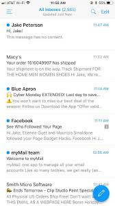 The 5 Best Free Email Clients For Ios Ios Iphone Gadget Hacks
