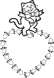 Small Picture Coloring Pages Cats Animated Images Gifs Pictures