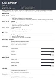 I would not hire top resume. Hostess Resume Examples Job Description Host Skills