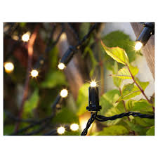 ikea outdoor lighting. Perfect Outdoor IKEA SOLARVET LED Lighting Chain With 24 Lights Easy To Use Because No  Cables Or Plugs On Ikea Outdoor Lighting
