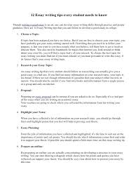 essay writing tips that every students needs to know 12 essay writing tips every student needs to know though writing a good essay is an