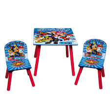 paw patrol childrens wooden table and chair set kids toddlers childs new 1 of 3free