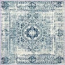 7 square area rug rugs target foot unique evoke vintage 6 ft