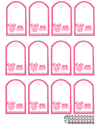 Baby Shower Favor Tag Printables  CutestBabyShowerscomBaby Shower Tag