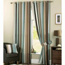 Teal Living Room Curtains Striped Living Room Curtains Zampco
