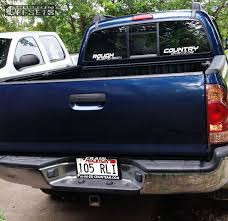 Wheel Offset 2007 Toyota Tacoma Slightly Aggressive Suspension ...