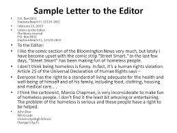 Collection of Solutions Letter To The Editor Sample For A Magazine About Sample