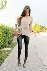 casual leather pant outfit classy leather pants outfit