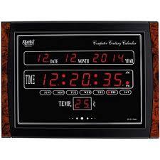 ajanta battery digital wall clock