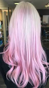 Hairstyle Blonde Hair With Pink Highlights