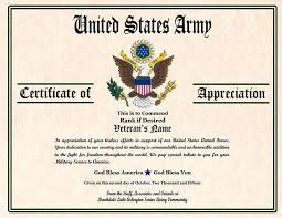 Military Certificate Templates Adorable 48 Army Appreciation Certificate Templates PDF DOCX Free