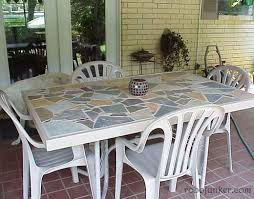 tile patio table top replacement awe inspiring i can definitely replace my broken glass with a mosaic decorating ideas 16