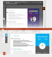 Fully Editable Creative Resume Template Free On Pantone Canvas Gallery