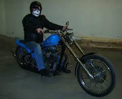 dudeworld rides bjorn s triumph chopper