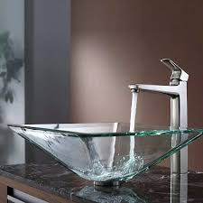 clear vessel sink. Modren Clear Clear Vessel Sink Crystal Gl In And E