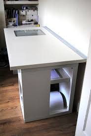 ikea vika blecket table top intigrated lightbox office furniture equipment 1