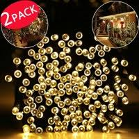 solar patio string lights. Brilliant Lights Product Image 2 PACK Outdoor String Lights 40ft 100 LED Waterproof Solar  Decoration Lighting For Indoor For Patio Lights T