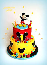 Best Images On Anniversary Cakes Mickey Cake Ideas Cakes Mickey
