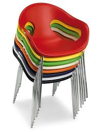 stackable chair with armrests sunny 4g