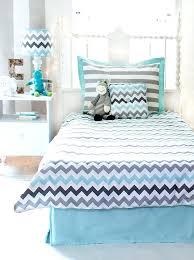 chevron bedding queen chevron in aqua full set chevron toddler bedding sets