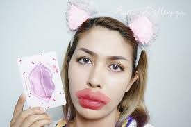 gang aum bellezza review มาส กปากให สวยอ มเอ บ ส ขภาพด ด วย etude house cherry lip gel patch