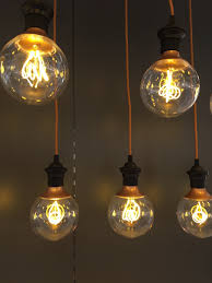 love these ikea led retro copper colour globe bulbs nittio e27 bulbs use clever optic beach lightinglighting ideasdining