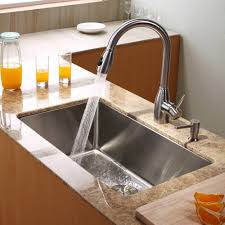 Undermount Composite Granite Kitchen Sinks Stainless Steel Kitchen Sink Combination Kraususacom