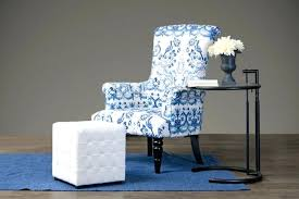 blue and white accent chair blue and white striped accent chair